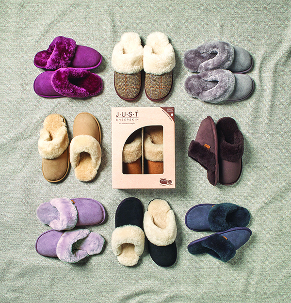 win just sheepskin slippers