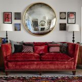 Spotted! Gorgeous Bespoke Convex Mirrors from Reid & Wright