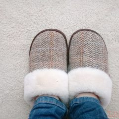 The Very Best Sheepskin Mule Slippers. Fact.