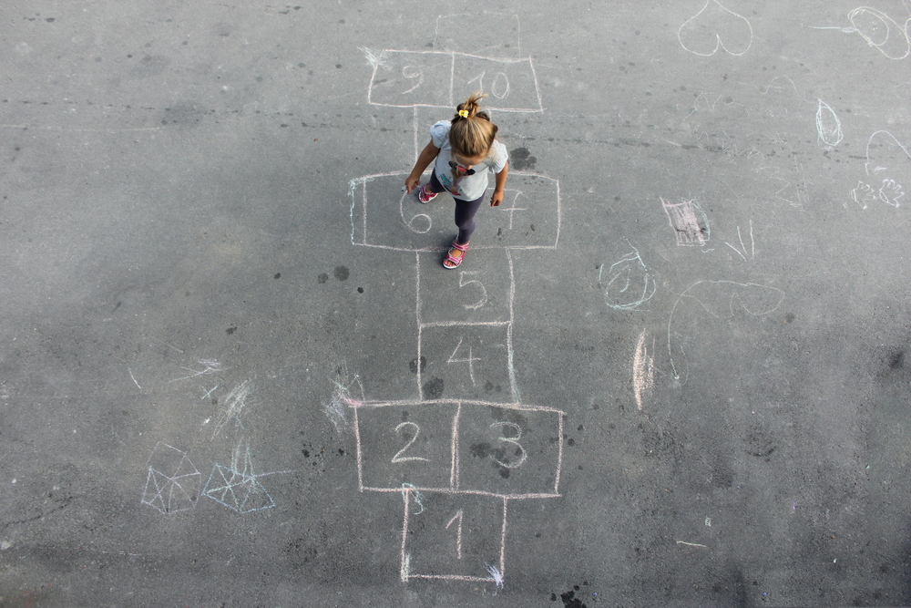 girl alone in playground - image courtesy of shutterstock