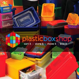 WIN 1 of 2 £65 Plastic Box Shop vouchers
