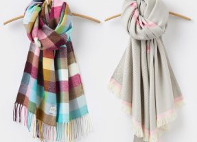 Oooh – bargain scarves! Joules have 25% off in their winter sale!