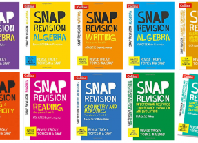 We're loving Collins Snap Revision for Easy English GCSE Revision