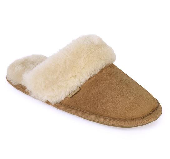 ladies duchess sheepskin slippers