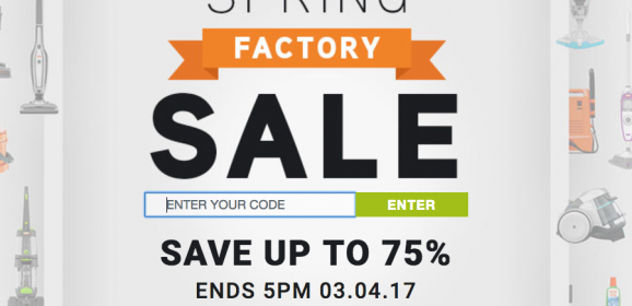 VAX FACTORY SALE – up to 75% discounts!