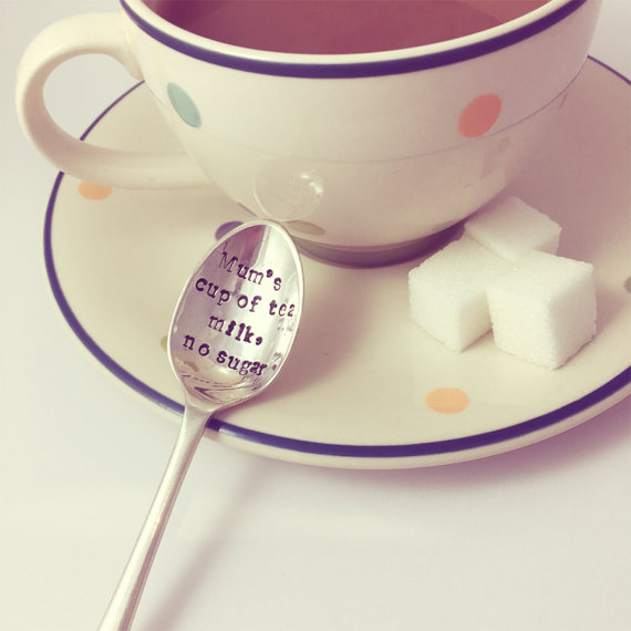 Mums cup of tea teaspoon