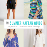 Our Top 5 Summer Kaftans – perfect cover ups for the beach!