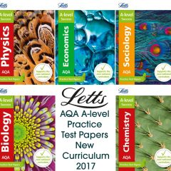 New Curriculum AQA A-level Economics Practice Test Papers from Letts