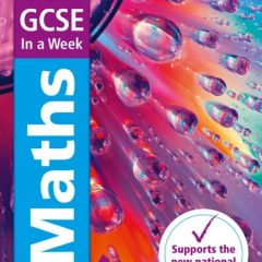 Entire GCSE Maths Foundation in One Week? It's the revison book every Yr11 needs right now!