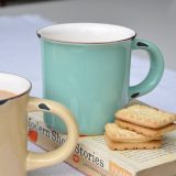 Spotted! GORGEOUS Enamel Mugs REDUCED to £2!