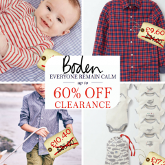 *SALE ALERT* Boden have a sale on. Boys clothes bargains ahoy!