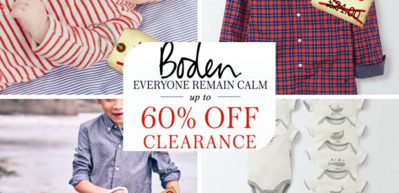 *SALE ALERT* Boden have a sale on. Boys clothes bargains ahoy!
