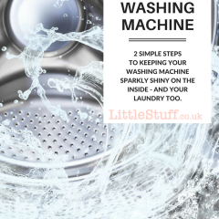 How to Clean your Washing Machine (plus Persil PowerGems #extraordinarypowers )