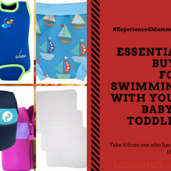 TOP Buys for Swimming with your Baby & Toddler #ExperiencedMummaTip