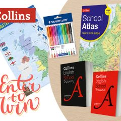 Win a Back To School Book Bundle for 11-12yr olds with Collins