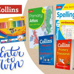 Win a Brilliant Back To School Book Bundle for 5-7yr olds with Collins