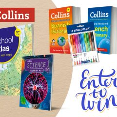 Win a Back To School Book Bundle for 9-10yr olds with Collins