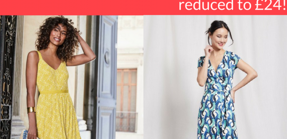 BARGAIN – £80 Boden dresses reduced to £24!