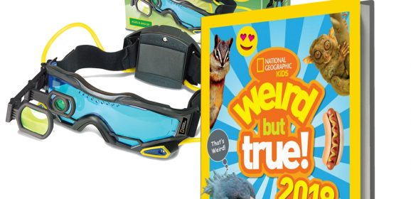 WIN – We've 6 copies of the National Geographic Kids 'Weird but True!' Annual to give away