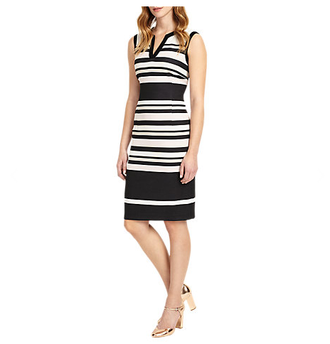reduced phase eight striped dress