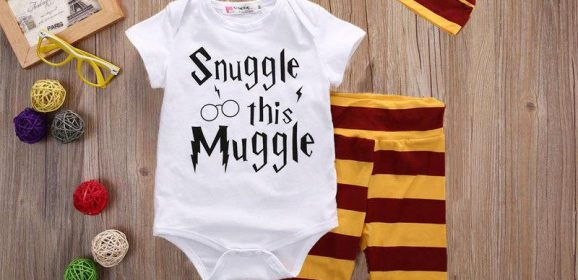 Spotted! £8 'Snuggle this Muggle' Baby Outfit. CUTE ALERT.