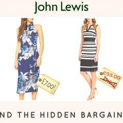 John Lewis bargains – £7 dress!