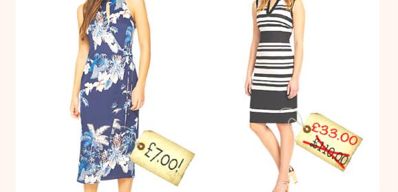 John Lewis bargains – £7 dress!