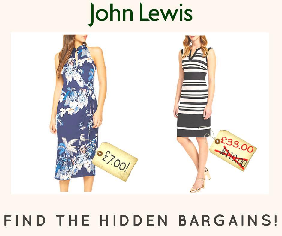 hidden bargains in john lewis