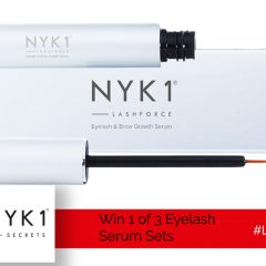 Win 1 of 3 Eyelash Serum Sets from NYK1! | #LittleStuff24