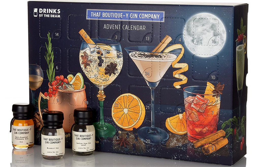 that boutique y gin company advent calendar 2017 edition. Black Bedroom Furniture Sets. Home Design Ideas