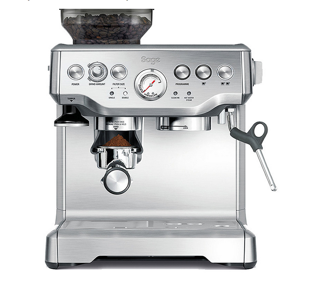the barista express bean to cup coffee machine