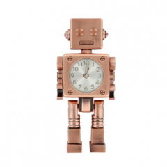 Copper robot alarm clock from Paperchase #ChristmasGiftGuide