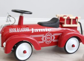 Personalised Ride On Fire Engine #ChristmasGiftGuide