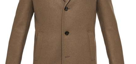 Ted Baker Churchl 3 Button Overcoat #ChristmasGiftGuide