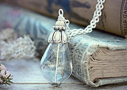 Dandelion Seed Necklace #ChristmasGiftGuide