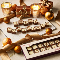 Alphabet Truffles from Thorntons #ChristmasGiftGuide