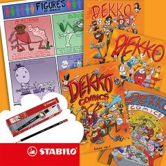 Win 1 of 10 Brill Dekko Comic Bundles
