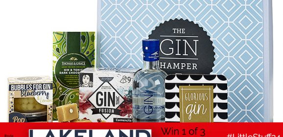 Win 1 of 3 Lush Gin Hampers From Lakeland!| #LittleStuff24