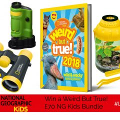 Win a fabulous £70 'Weird But True!' Bundle of NG Kids goodies!| #LittleStuff24