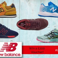 Win an amazing £200 Voucher for New Balance! | #LittleStuff24