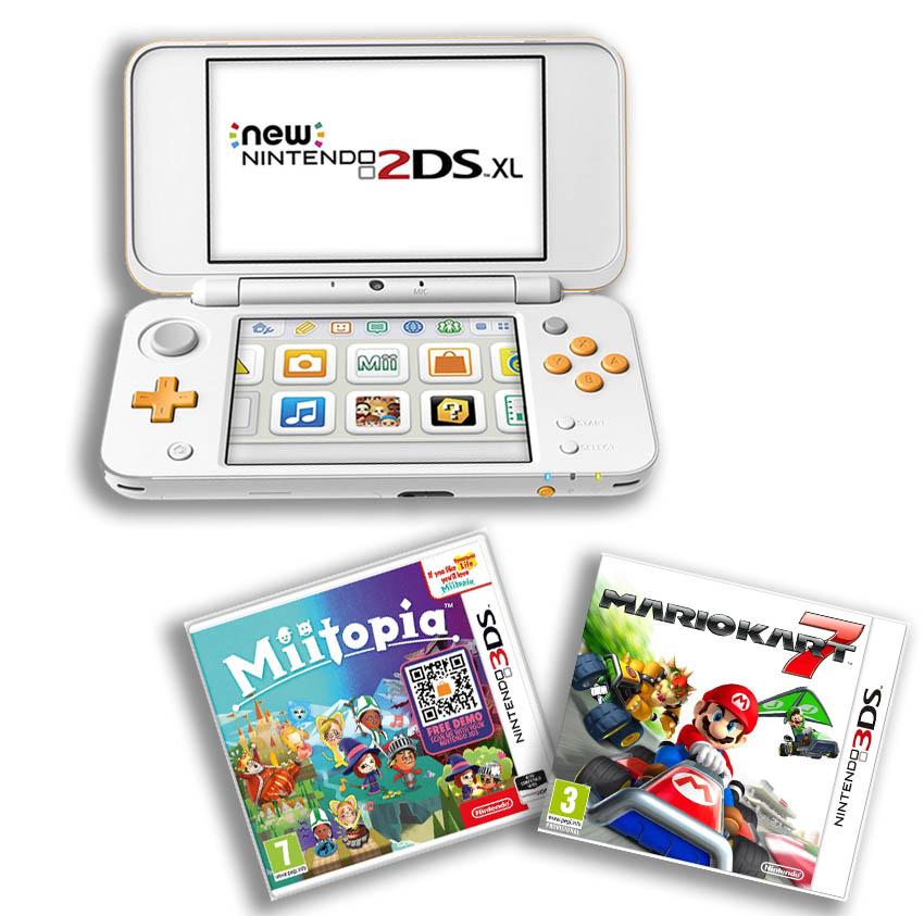 Nintendo 2ds Xl Bundle Mario
