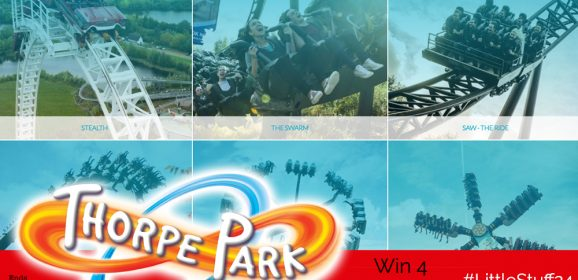 Win Four Tickets to Thorpe Park!| #LittleStuff24