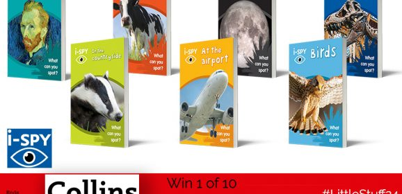 Win a Brilliant Bundle of i-SPY Books! | #LittleStuff24