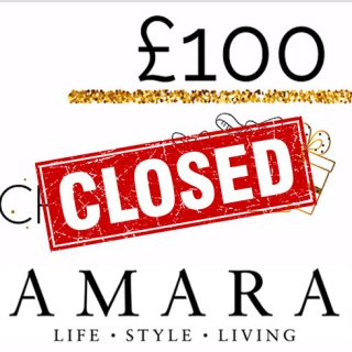 Win a £100 Gift Card From Amara!