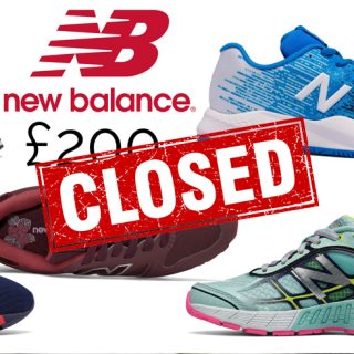 Win an amazing £200 New Balance Voucher!