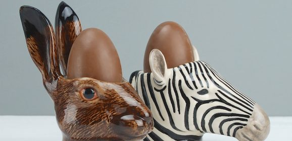 Egg Cups! Real Proper Animal Ones. We LOVE.