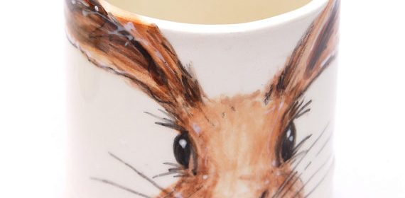 Spotted! It's A Gorgeous Hare Mug. *happy face*