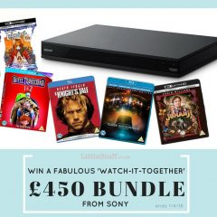Win a £450 Entertainment Bundle from Sony!