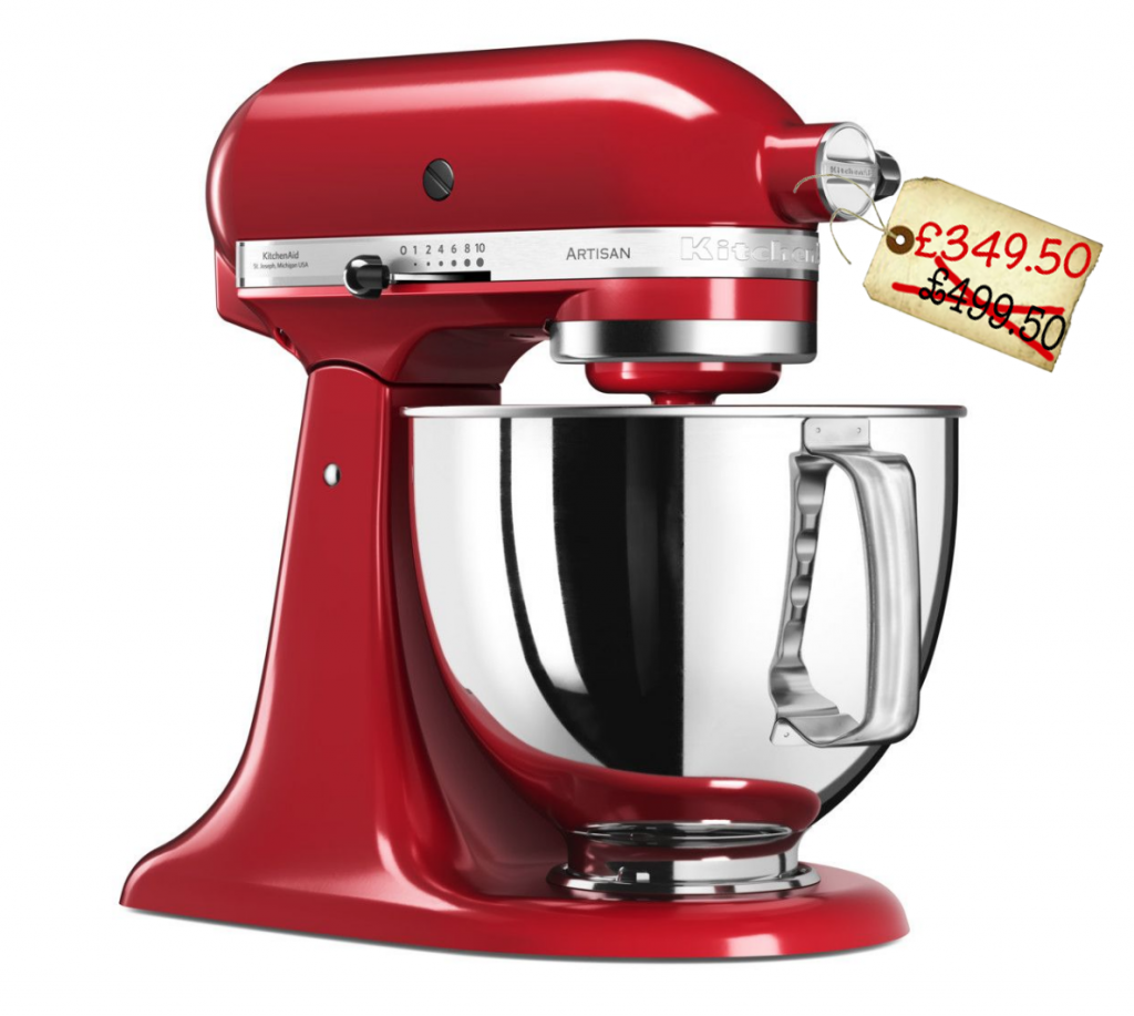 Kitchenaid Stand Mixers Are 30 Off At House Of Fraser