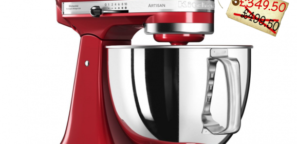 KitchenAid Stand Mixers are 30% off at House of Fraser – under £350!